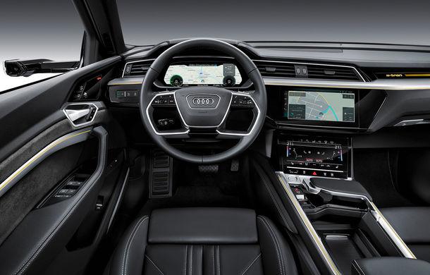 Prim contact cu Audi e-tron: 30 de minute în compania primului SUV electric din portofoliul nemților - Poza 11