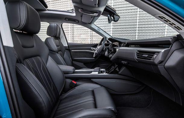 Prim contact cu Audi e-tron: 30 de minute în compania primului SUV electric din portofoliul nemților - Poza 13
