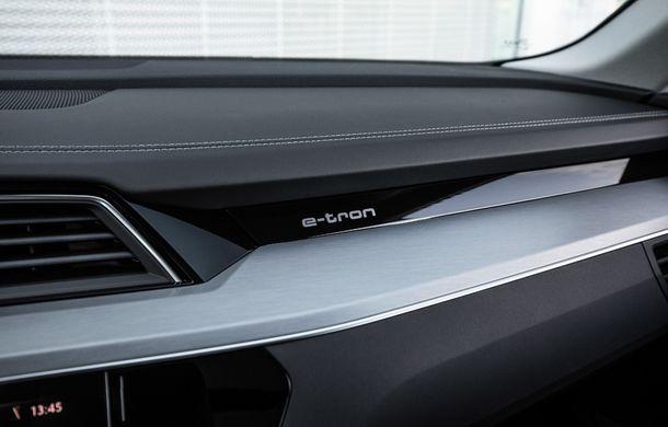 Prim contact cu Audi e-tron: 30 de minute în compania primului SUV electric din portofoliul nemților - Poza 15