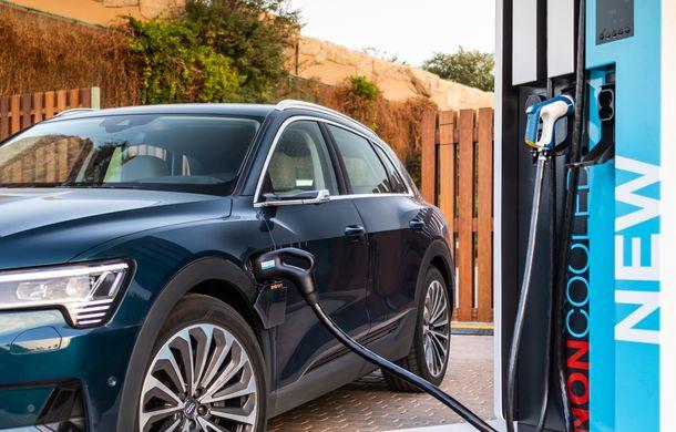 Prim contact cu Audi e-tron: 30 de minute în compania primului SUV electric din portofoliul nemților - Poza 9