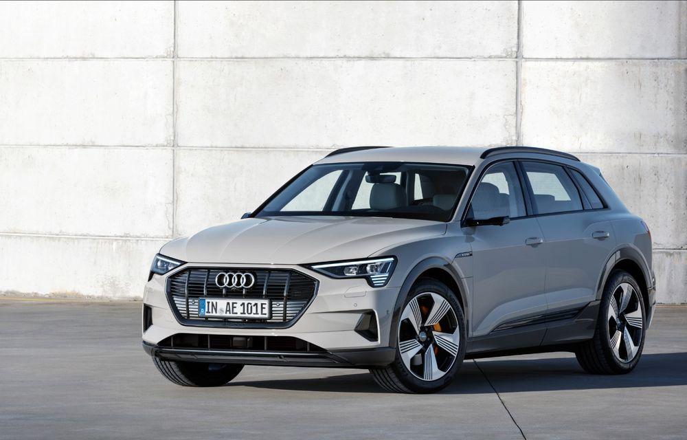 Prim contact cu Audi e-tron: 30 de minute în compania primului SUV electric din portofoliul nemților - Poza 5