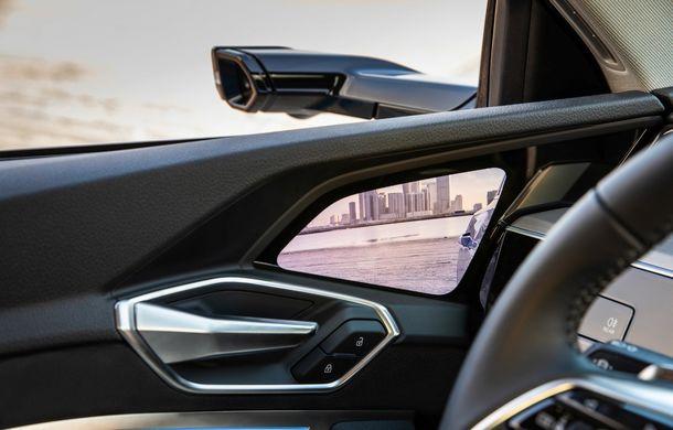 Prim contact cu Audi e-tron: 30 de minute în compania primului SUV electric din portofoliul nemților - Poza 19