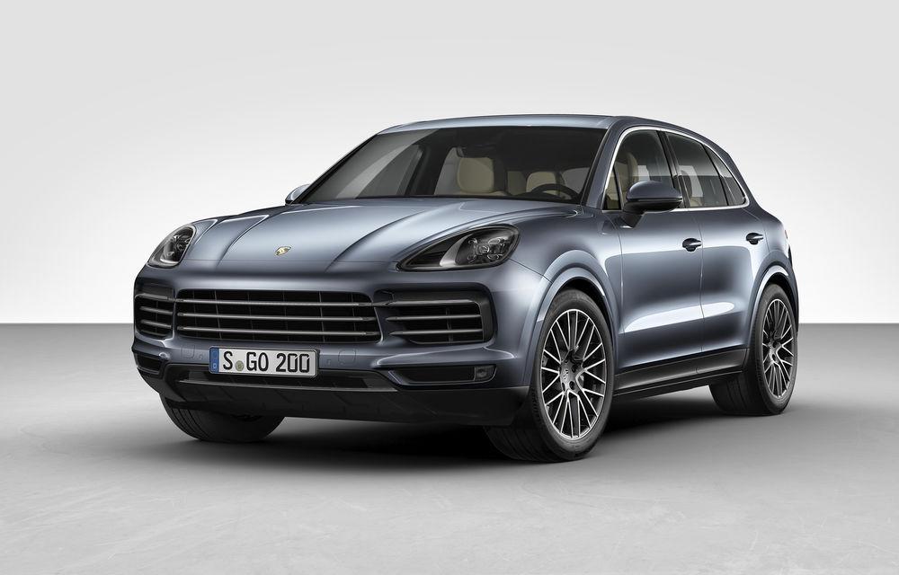 Informații despre versiunea coupe a lui Porsche Cayenne: rivalul lui BMW X6 va fi lansat în cursul anului curent - Poza 1