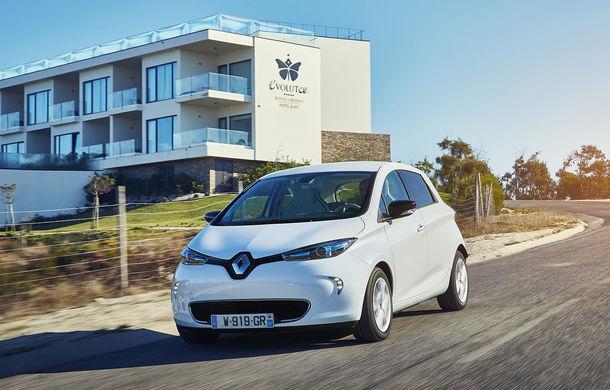 Renault pregătește un update pentru Zoe: subcompacta electrică va primi noutăți de design - Poza 1