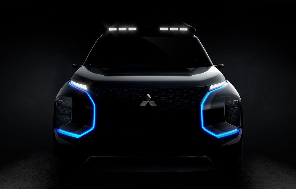 Conceptul Mitsubishi Engelberg Tourer va fi prezentat la Geneva: prototipul anunță o nouă direcție de design în segmentul SUV - Poza 1