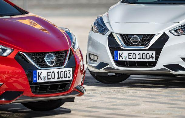 Îmbunătățiri pentru Nissan Micra: două motoare noi, cutie automată Xtronic, echipare N-Sport și o nouă versiune NissanConnect - Poza 6