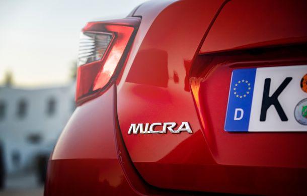Îmbunătățiri pentru Nissan Micra: două motoare noi, cutie automată Xtronic, echipare N-Sport și o nouă versiune NissanConnect - Poza 25