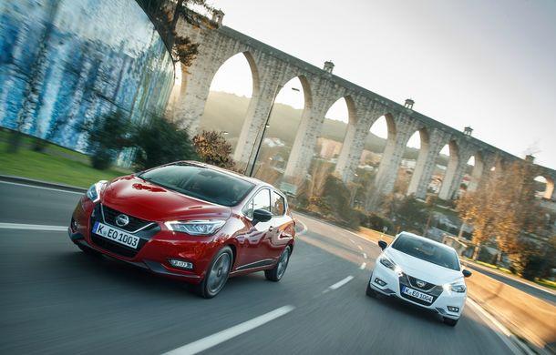 Îmbunătățiri pentru Nissan Micra: două motoare noi, cutie automată Xtronic, echipare N-Sport și o nouă versiune NissanConnect - Poza 45