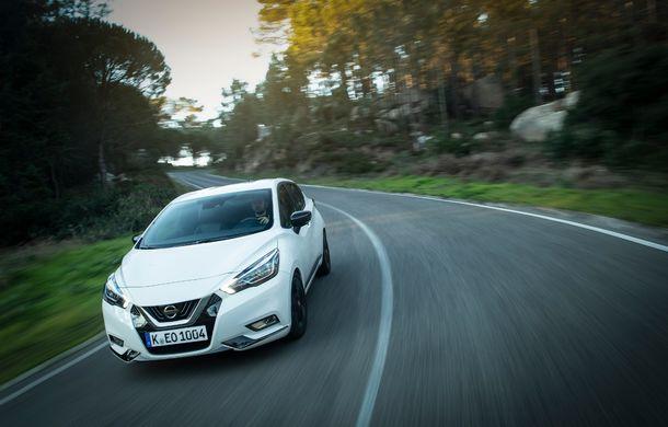 Îmbunătățiri pentru Nissan Micra: două motoare noi, cutie automată Xtronic, echipare N-Sport și o nouă versiune NissanConnect - Poza 33