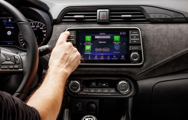 Îmbunătățiri pentru Nissan Micra: două motoare noi, cutie automată Xtronic, echipare N-Sport și o nouă versiune NissanConnect - Poza 42