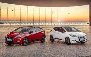 Îmbunătățiri pentru Nissan Micra: două motoare noi, cutie automată Xtronic, echipare N-Sport și o nouă versiune NissanConnect