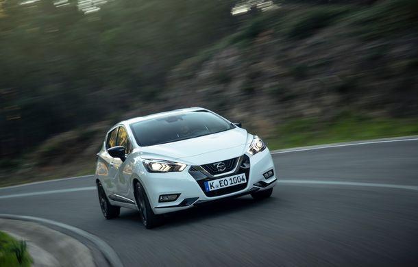 Îmbunătățiri pentru Nissan Micra: două motoare noi, cutie automată Xtronic, echipare N-Sport și o nouă versiune NissanConnect - Poza 44