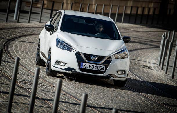 Îmbunătățiri pentru Nissan Micra: două motoare noi, cutie automată Xtronic, echipare N-Sport și o nouă versiune NissanConnect - Poza 31