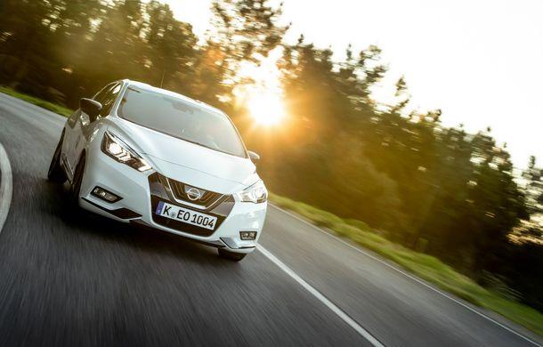 Îmbunătățiri pentru Nissan Micra: două motoare noi, cutie automată Xtronic, echipare N-Sport și o nouă versiune NissanConnect - Poza 27