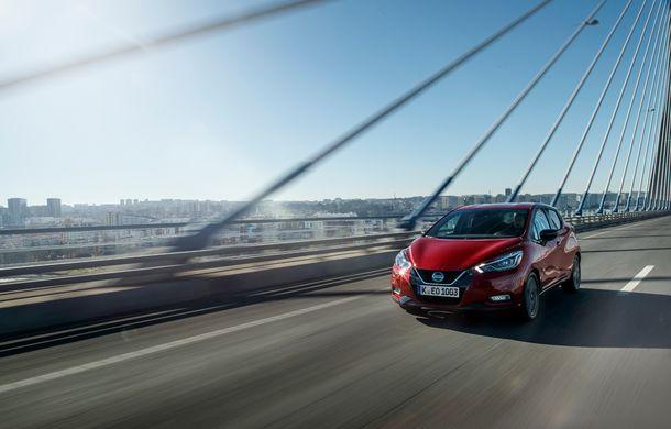 Îmbunătățiri pentru Nissan Micra: două motoare noi, cutie automată Xtronic, echipare N-Sport și o nouă versiune NissanConnect - Poza 2