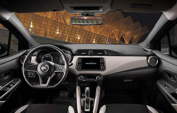 Îmbunătățiri pentru Nissan Micra: două motoare noi, cutie automată Xtronic, echipare N-Sport și o nouă versiune NissanConnect - Poza 21