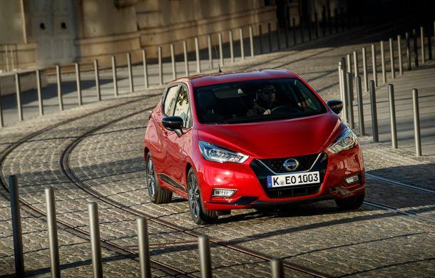 Îmbunătățiri pentru Nissan Micra: două motoare noi, cutie automată Xtronic, echipare N-Sport și o nouă versiune NissanConnect - Poza 16
