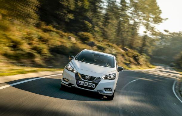 Îmbunătățiri pentru Nissan Micra: două motoare noi, cutie automată Xtronic, echipare N-Sport și o nouă versiune NissanConnect - Poza 37
