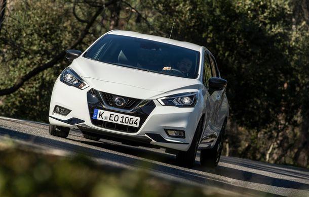 Îmbunătățiri pentru Nissan Micra: două motoare noi, cutie automată Xtronic, echipare N-Sport și o nouă versiune NissanConnect - Poza 36