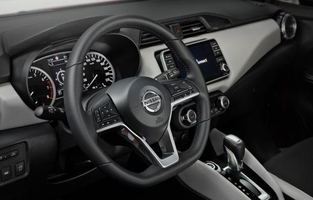 Îmbunătățiri pentru Nissan Micra: două motoare noi, cutie automată Xtronic, echipare N-Sport și o nouă versiune NissanConnect - Poza 24