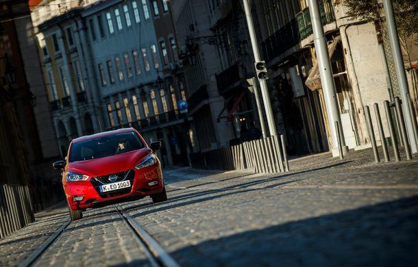 Îmbunătățiri pentru Nissan Micra: două motoare noi, cutie automată Xtronic, echipare N-Sport și o nouă versiune NissanConnect - Poza 17