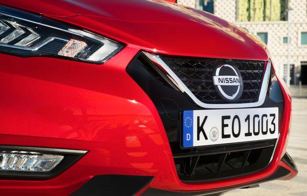 Îmbunătățiri pentru Nissan Micra: două motoare noi, cutie automată Xtronic, echipare N-Sport și o nouă versiune NissanConnect - Poza 20