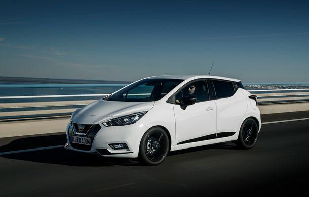 Îmbunătățiri pentru Nissan Micra: două motoare noi, cutie automată Xtronic, echipare N-Sport și o nouă versiune NissanConnect - Poza 40