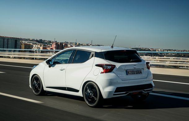 Îmbunătățiri pentru Nissan Micra: două motoare noi, cutie automată Xtronic, echipare N-Sport și o nouă versiune NissanConnect - Poza 39
