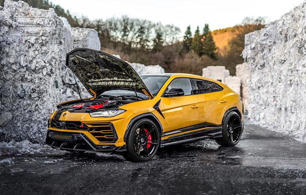 Lamborghini Urus primește îmbunătățiri din partea tunerului Manhart: SUV-ul italienilor oferă acum 812 CP și 980 Nm - Poza 2