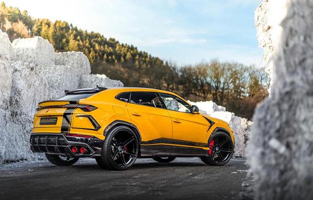 Lamborghini Urus primește îmbunătățiri din partea tunerului Manhart: SUV-ul italienilor oferă acum 812 CP și 980 Nm - Poza 3