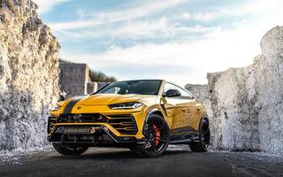 Lamborghini Urus primește îmbunătățiri din partea tunerului Manhart: SUV-ul italienilor oferă acum 812 CP și 980 Nm