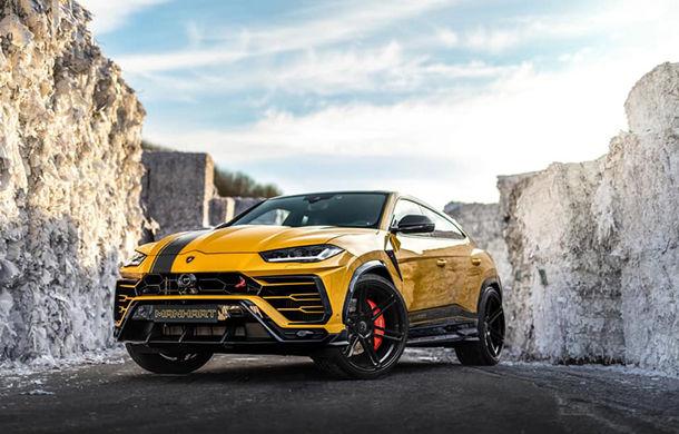 Lamborghini Urus primește îmbunătățiri din partea tunerului Manhart: SUV-ul italienilor oferă acum 812 CP și 980 Nm - Poza 1