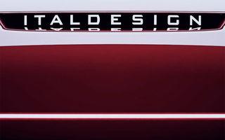 Italdesign prezintă al doilea teaser care anunță lansarea unui nou vehicul: prezentarea va avea loc în cadrul Salonului Auto de la Geneva