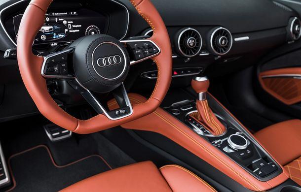 Audi TT 20th Anniversary: ediție specială pregătită în cinstea modelului german - Poza 14