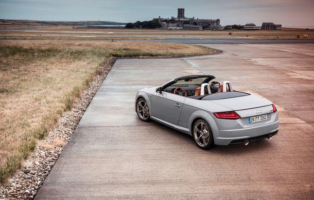 Audi TT 20th Anniversary: ediție specială pregătită în cinstea modelului german - Poza 8