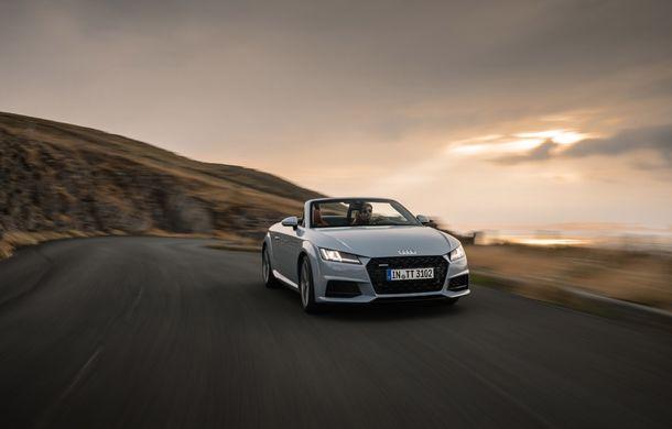 Audi TT 20th Anniversary: ediție specială pregătită în cinstea modelului german - Poza 5