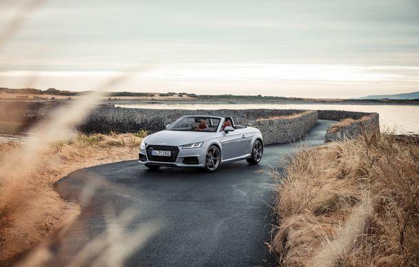 Audi TT 20th Anniversary: ediție specială pregătită în cinstea modelului german - Poza 6