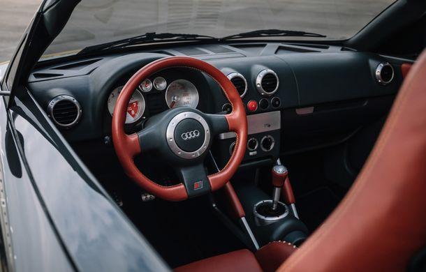 Audi TT 20th Anniversary: ediție specială pregătită în cinstea modelului german - Poza 13