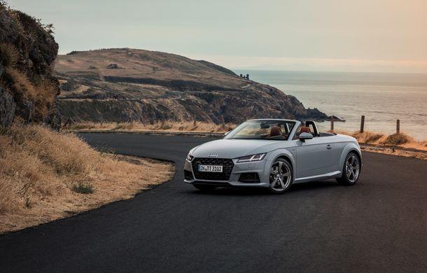 Audi TT 20th Anniversary: ediție specială pregătită în cinstea modelului german - Poza 3