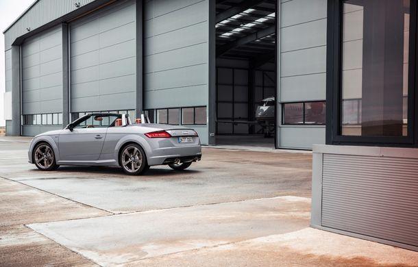 Audi TT 20th Anniversary: ediție specială pregătită în cinstea modelului german - Poza 7
