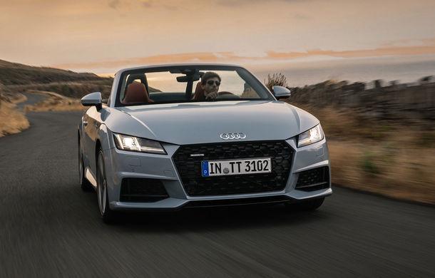 Audi TT 20th Anniversary: ediție specială pregătită în cinstea modelului german - Poza 1