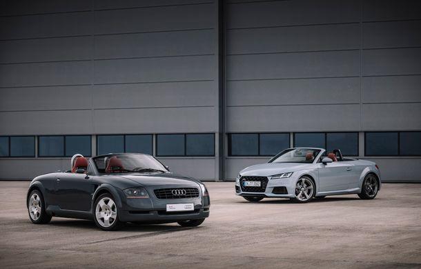 Audi TT 20th Anniversary: ediție specială pregătită în cinstea modelului german - Poza 2