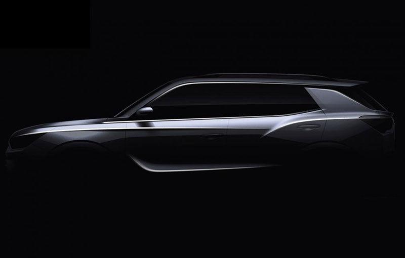 Prima imagine teaser cu viitorul SsangYong Korando: noua generație a SUV-ului asiatic debutează la Geneva - Poza 1