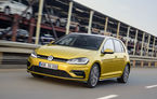 Top 25: cele mai vândute mașini în Europa în 2018. VW Golf rămâne pe prima poziție, în timp ce Dacia Sandero urcă pe locul al 11-lea