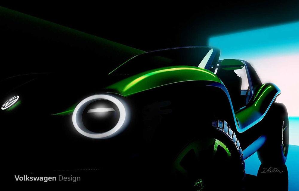 Primele schițe cu viitorul e-buggy pregătit de Volkswagen: prototipul electric debutează la Geneva - Poza 2