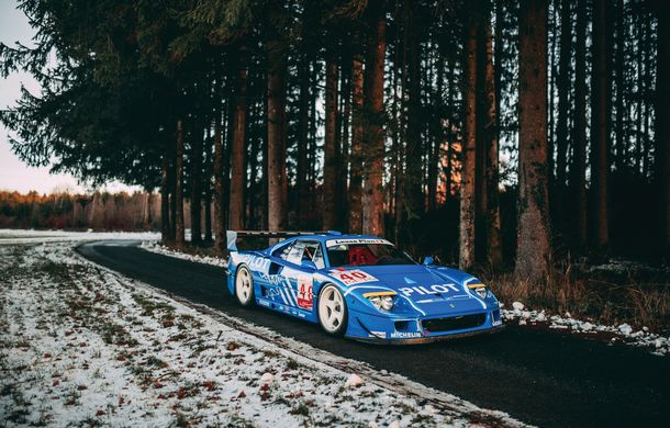 Un Ferrari F40 LM cu peste 700 de cai putere și participări la Le Mans va fi scos la licitație: preț estimat la 5 milioane de euro - Poza 4