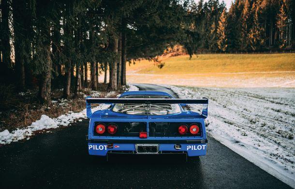 Un Ferrari F40 LM cu peste 700 de cai putere și participări la Le Mans va fi scos la licitație: preț estimat la 5 milioane de euro - Poza 2