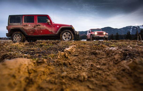Jeep Winter Tour 2019: Wrangler vs. Wrangler - Poza 46