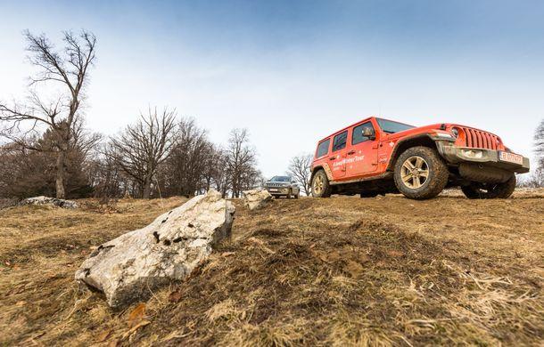 Jeep Winter Tour 2019: Wrangler vs. Wrangler - Poza 17