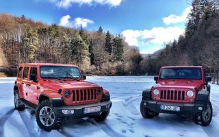 Jeep Winter Tour 2019: Wrangler vs. Wrangler